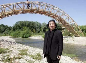 Puente de papel - Shigeru Ban