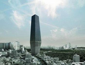 Torre bicentenario, Ciudad de México - Rem Koolhaas