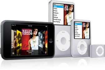 nuevos ipod nano, touch, classic y shuffle