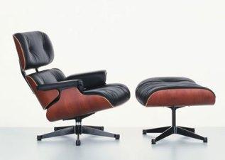 monta una lounge chair & ottoman de los eames I
