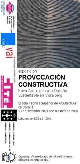 PROVOCACION CONSTRUCTIVA