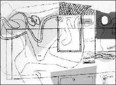 Magic, serigraf�a de Le Corbusier.