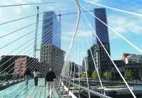 Pasarela  Zubi-zuri de Santiago Calatrava