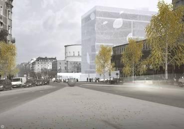 Ampliación Biblioteca Pública de Estocolmo de Heike Hanada