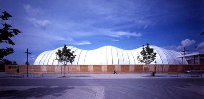 Pabellón de Japón en la Expo Hannover 2000 de Shigeru Ban
