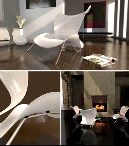 orchid chair - sebastian gronemeyer