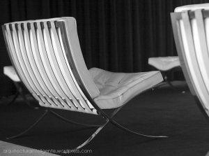 sillón barcelona - mies van der rohe - pabellón barcelona (bcn)
