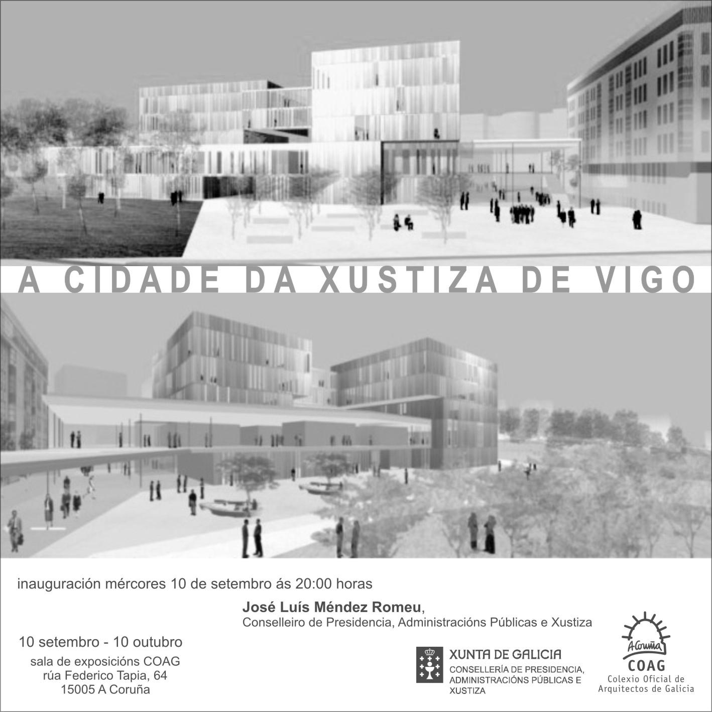 La ciudad de la justicia de vigo coag a coru a - Arquitectura de interiores coruna ...